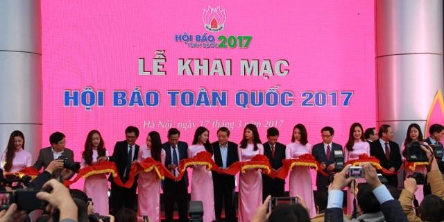 Lễ khai mặc Hội báo toàn quốc 2017