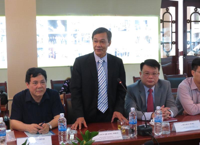 Ông Nguyễn Quang Thức, Phó Vụ trưởng Vụ Đông Á, Nam Á, Nam Thái Bình Dương, Bộ Ngoại giao, nguyên Đại sứ Việt Nam tại Băng-la-đét