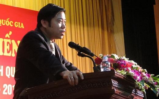PGS.TS. Nguyễn Văn Hậu –Trưởng Ban Đào tạo dặn dò các sinh viên bảo đảm kỳ kiến tập đạt kết quả tốt