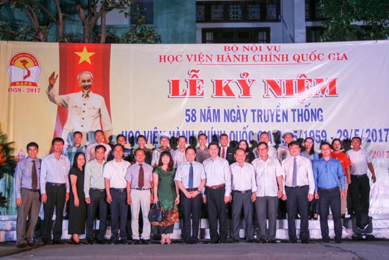 Đoàn đại biểu Cơ sở Học viện tại TP. Hồ Chí Minh