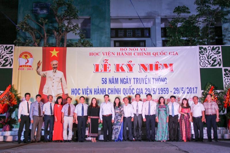 Đoàn đại biểu Phân viện Tây Nguyên