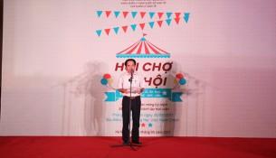 TS. Lương Minh Việt phát biểu chúc mừng