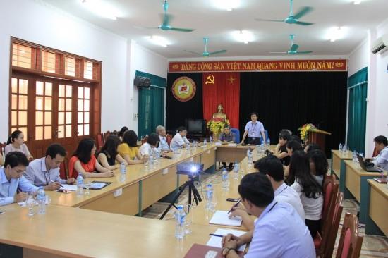 Đoàn công tác làm việc với Trường Chính trị tỉnh Thanh Hóa