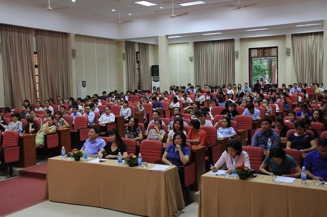 Quang cảnh Lễ Khai mạc kỳ thi tốt nghiệp.