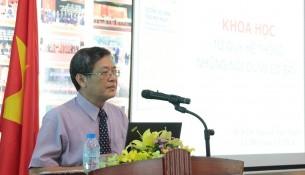 PGS. TS. Lưu Kiếm Thanh – Phó Giám đốc Học viện phát biểu khai giảng khóa học