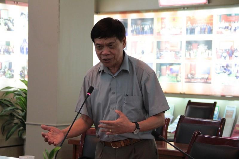 GS.TS. Võ Chí Mỹ - Hội Trắc địa - Bản đồ - Viễn thám Việt Nam phát biểu tại Hội thảo
