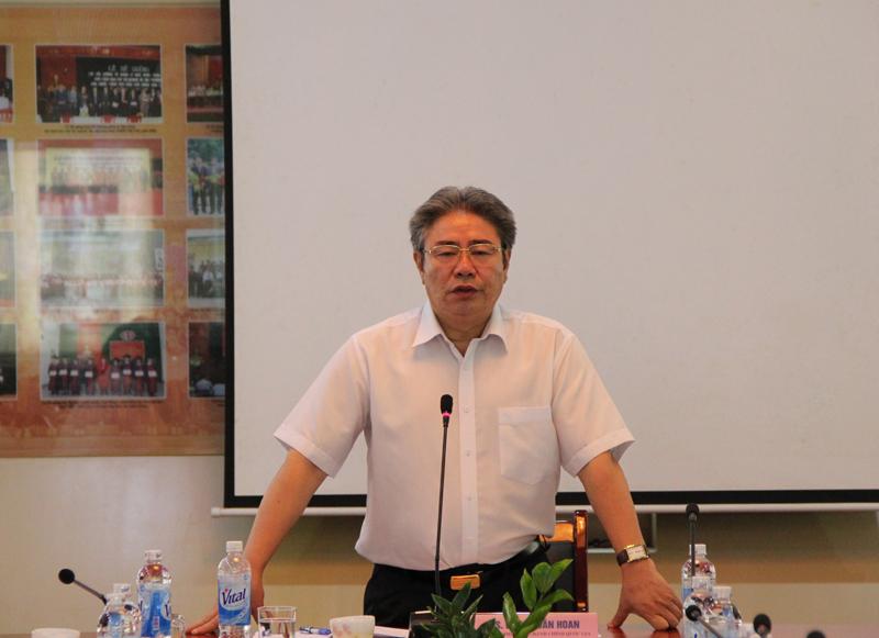 TS. Đặng Xuân Hoan – Giám đốc Học viện phát biểu kết luận