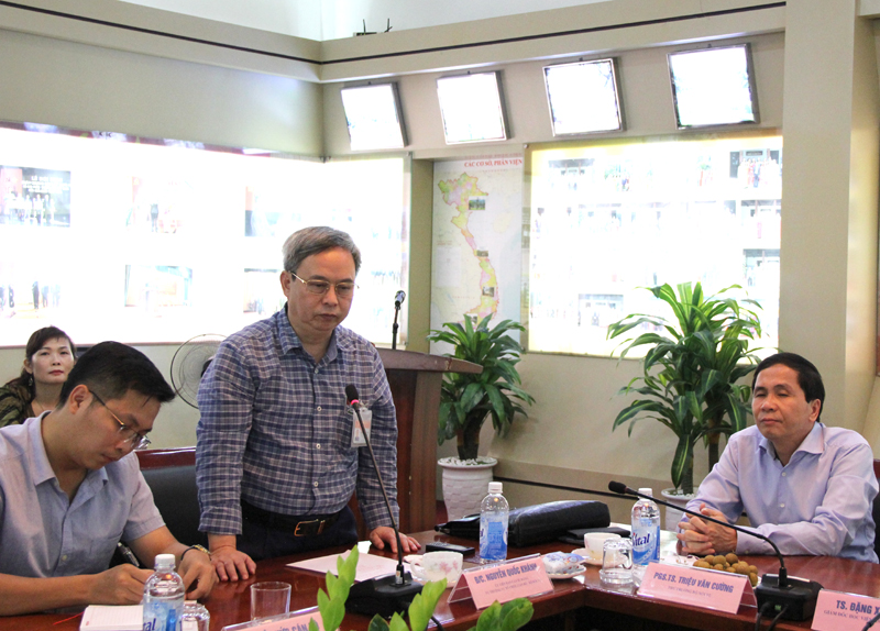 Đồng chí Nguyễn Quốc Khánh- Ủy viên Ban Cán sự Đảng Bộ Nội vụ, Vụ trưởng Vụ Tổ chức cán bộ