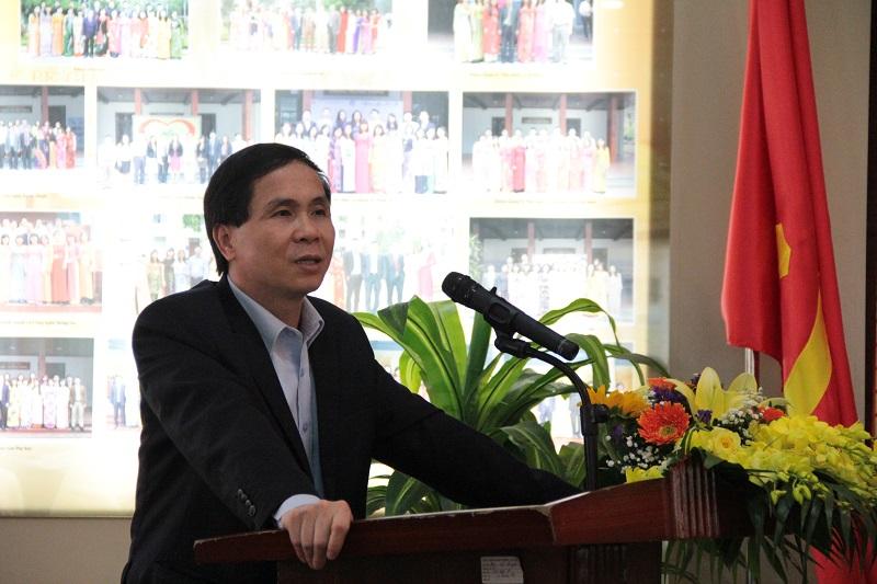 PGS. TS. Triệu Văn Cường – Thứ trưởng Bộ Nội vụ phát biểu khai giảng lớp bồi dưỡng