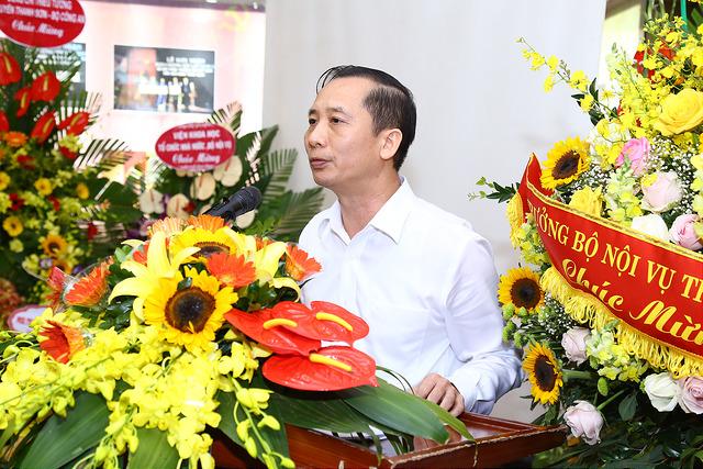 PGS.TS. Nguyễn Bá Chiến nguyên Trưởng khoa  Khoa Sau Đại học phát biểu tại buổi Lễ