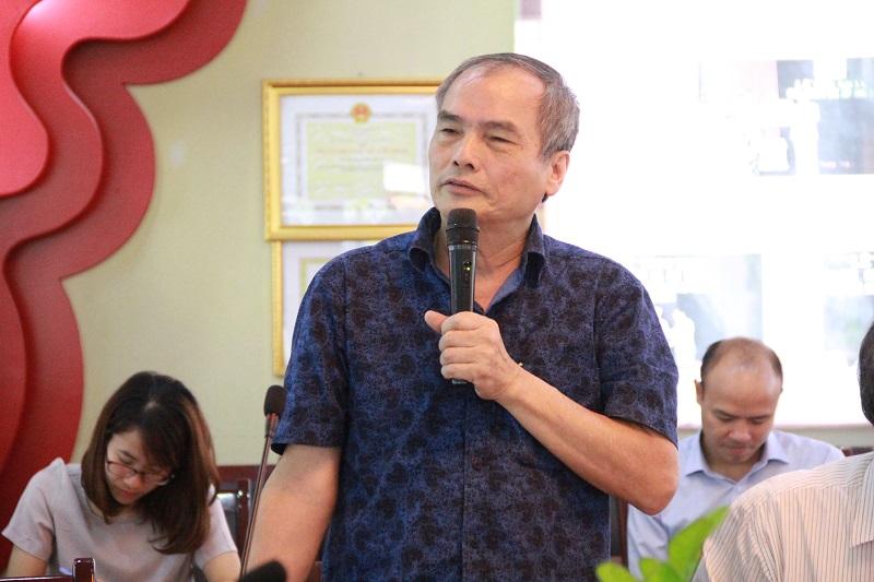 GS.TS. Nguyễn Hữu Khiển – nguyên Phó Giám đốc Học viện phát biểu tại Hội thảo.