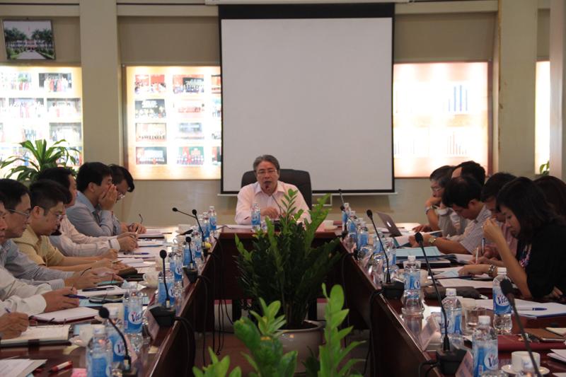TS. Đặng Xuân Hoan – Bí thư Đảng ủy, Giám đốc Học viện chủ trì Hội nghị
