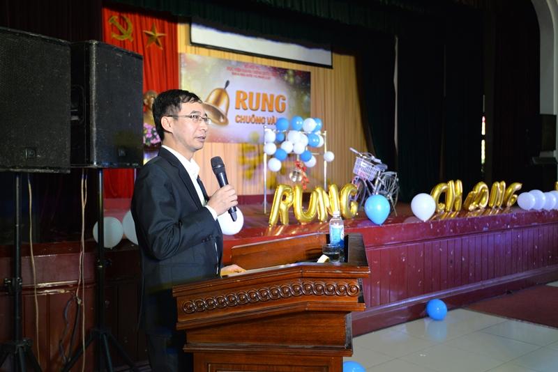 PGS.TS. Lương Thanh Cường phát biểu tại cuộc thi