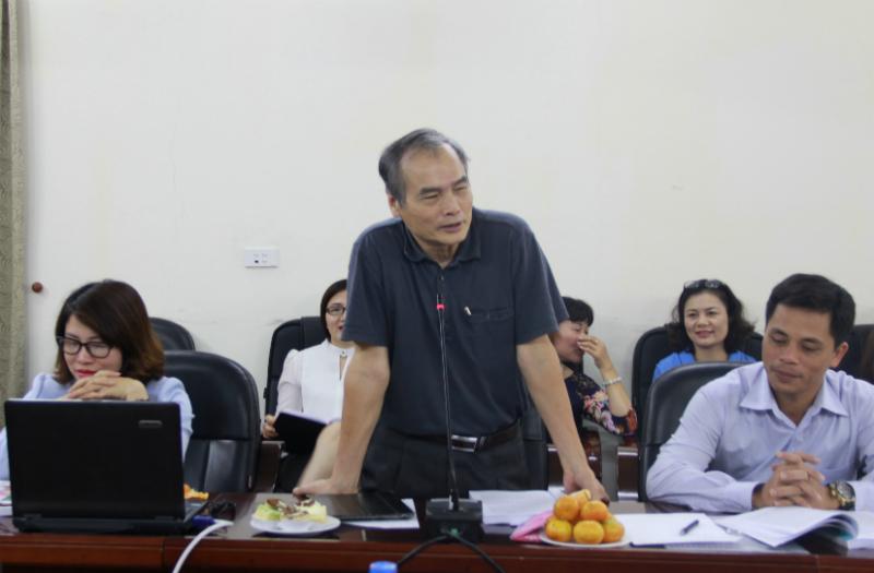 GS.TS. Nguyễn Hữu Khiển - nguyên Phó Giám đốc Học viện HVQG