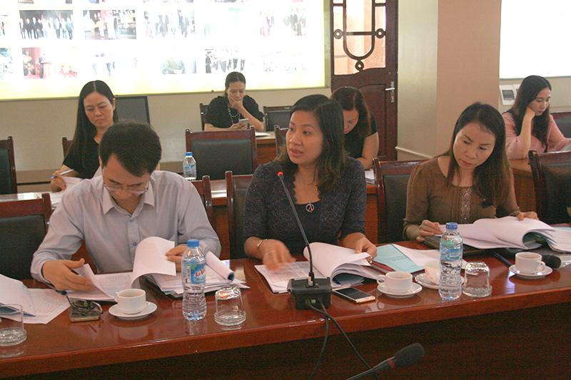 Các đại biểu phát biểu ý kiến tại Hội nghị