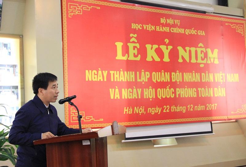 ThS. Nguyễn Tiến Hiệp – Phó Trưởng Ban phụ trách Ban Tổ chức – Cán bộ giới thiệu đại biểu