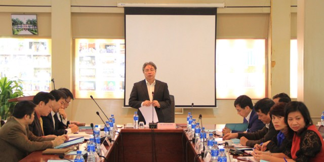 TS. Đặng Xuân Hoan – Giám đốc Học viện phát biểu kết luận Hội nghị