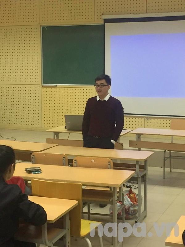 Anh Nguyễn Văn Việt chia sẻ với các bạn thành viên mới