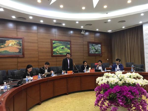 Đồng chí Đặng Xuân Phong - Chủ tịch UBND tỉnh Lào Cai phát biểu tại buổi lễ