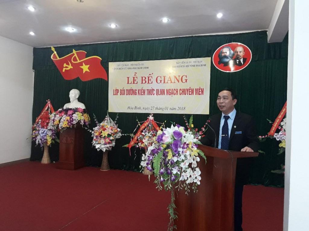 Ông Nguyễn Minh Hải – Giám đốc Bảo hiểm xã hội tỉnh Hòa Bình