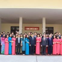 Các đại biểu dự Hội nghị quán triệt và triển khai thực hiện Quyết định số 05/2018/QĐ-TTg của Thủ tướng Chính phủ tại Học viện Hành chính Quốc gia