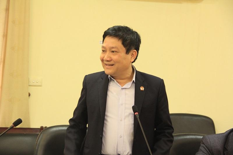 TS. Lê Như Thanh – nguyên Phó Giám đốc Thường trực Học viện trao đổi tại Hội nghị