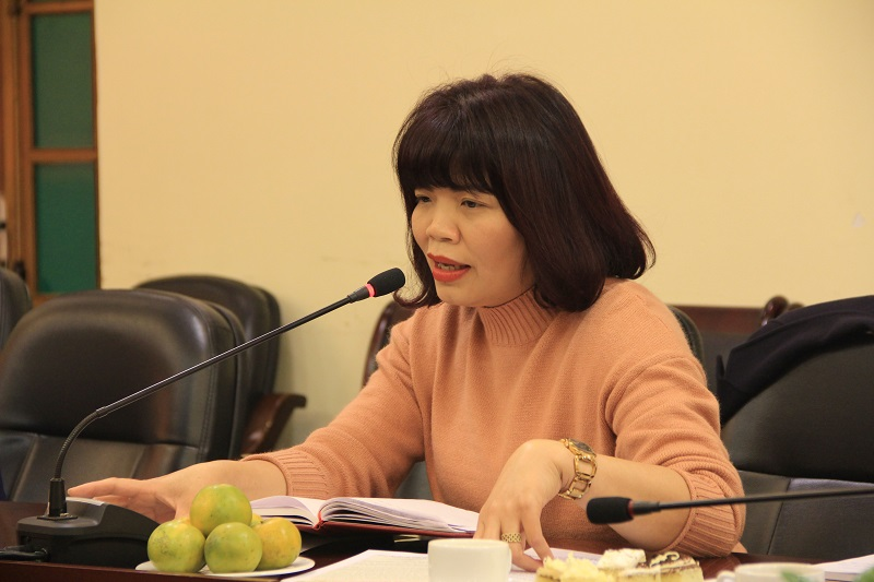 PGS.TS. Nguyễn Thị Hồng Hải – Trưởng Khoa Tổ chức và Quản lý nhân sự đề xuất mở thêm chuyên mục mới trên Tạp chí