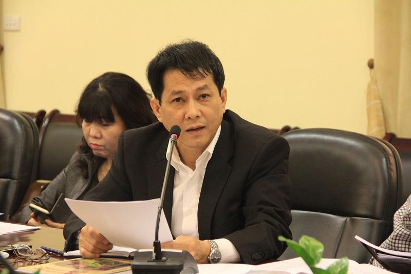 PGS.TS. Trương Quốc Chính – Trưởng Khoa Lý luận cơ sở đề xuất xây dựng quy trình thẩm định bài báo khoa học của HĐBT