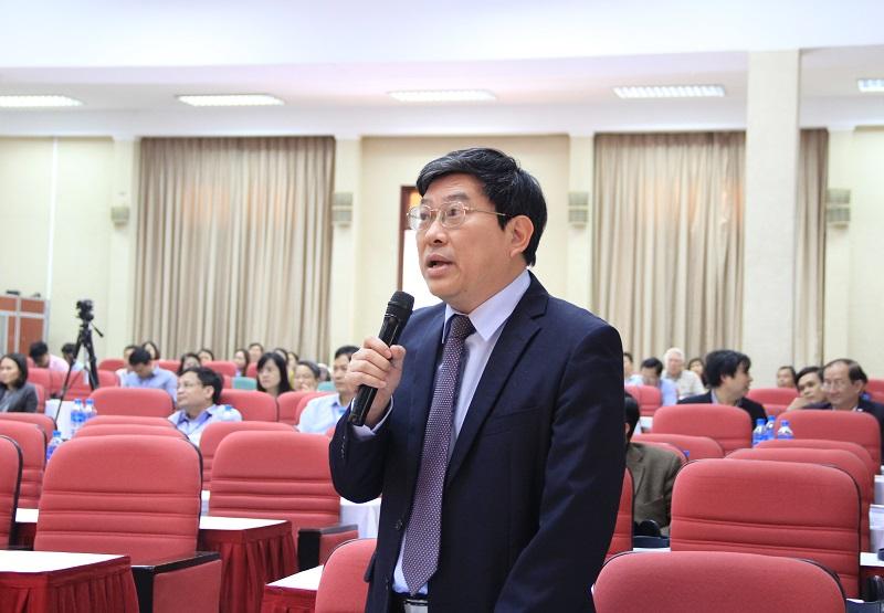 PGS.TS. Nguyễn Duy Bắc – Phó Giám đốc Học viện Chính trị Quốc gia Hồ Chí Minh phát biểu tại Hội thảo