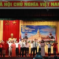 Văn nghệ trào mừng quốc khánh Lào