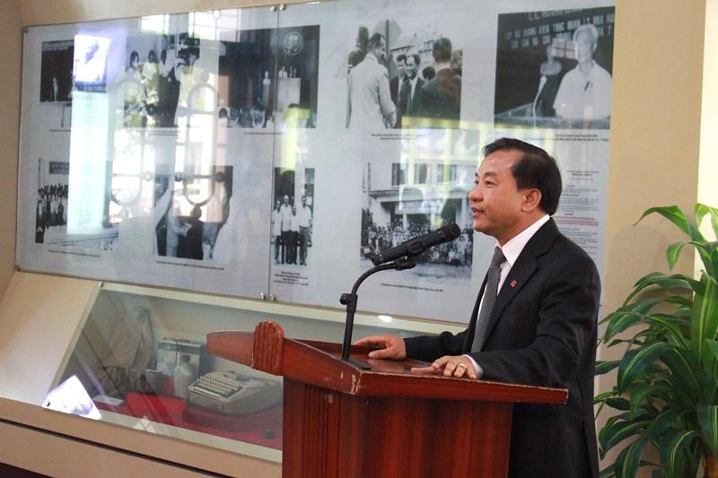 TS. Nguyễn Đăng Quế phát biểu nhận nhiệm vụ
