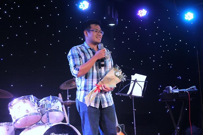 Bạn Phạm Minh Quang chia sẻ cảm xúc