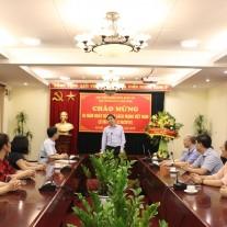 PGS.TS. Triệu Văn Cường – Thứ trưởng Bộ Nội vụ phát biểu chúc mừng tập thể cán bộ, biên tập viên Tạp chí QLNN