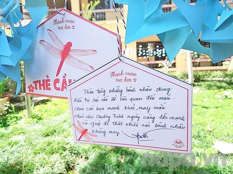 Những lời chúc, lời chia sẻ đầy ý nghĩa của các tình nguyện viên tham gia hiến máu tại chương trình
