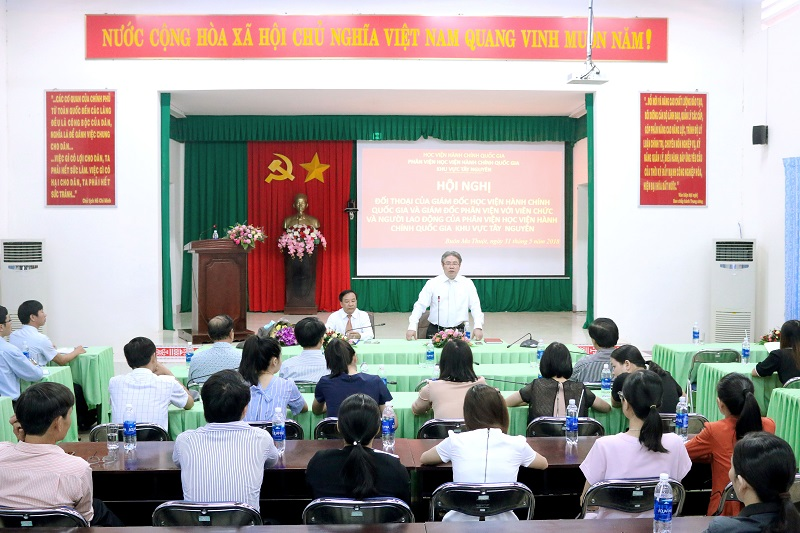 TS. Đặng Xuân Hoan phát biểu tại Hội nghị
