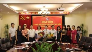 Các đại biểu dự Đại hội Chi hội Nhà báo Tạp chí QLNN nhiệm kỳ 2018 - 2020