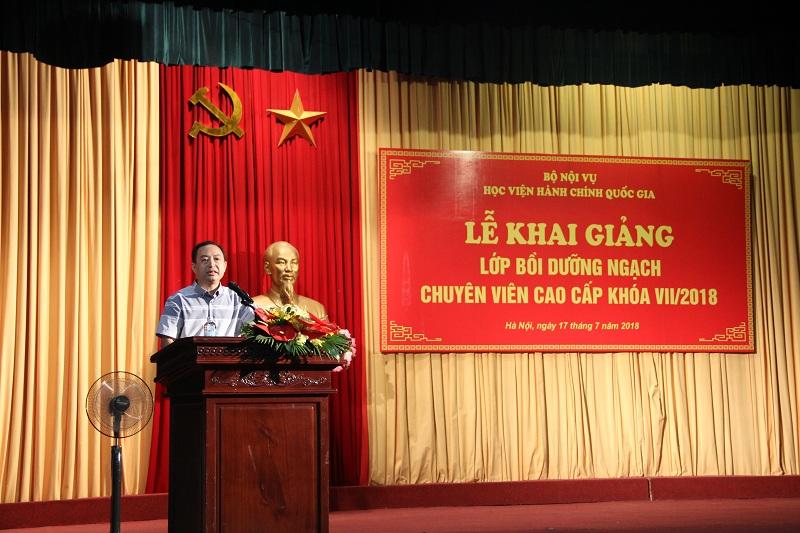 ThS Nguyễn Toàn Thắng - Phó Chánh Văn phòng phổ biến nội quy, quy định của Học viện
