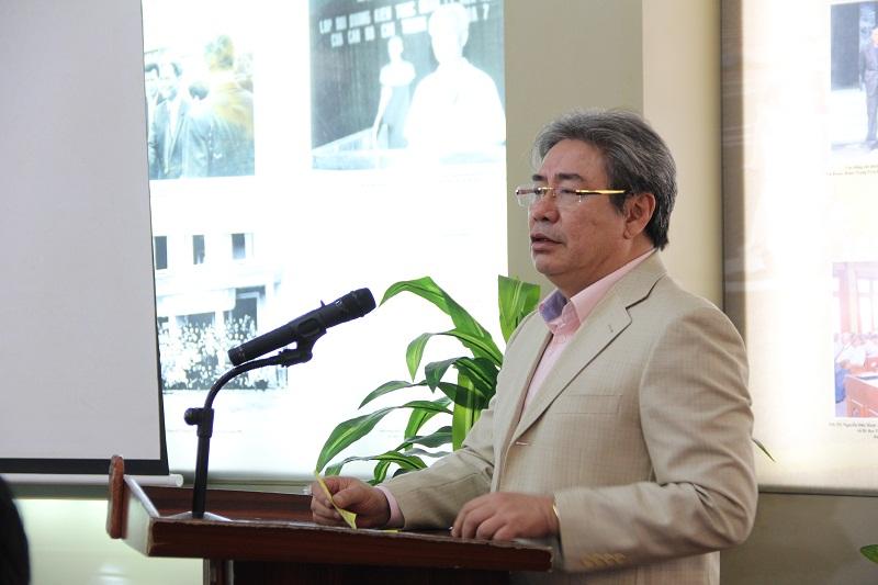 TS. Đặng Xuân Hoan – Giám đốc Học viện phát biểu chúc mừng và giao nhiệm vụ cho các đồng chí được bổ nhiệm