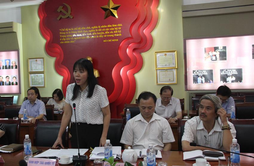 Các đại biểu phát biểu ý kiến