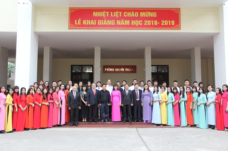 Các đại biểu tham dự lễ khai giảng năm học 2018-2019 của Học viện Hành chính Quốc gia