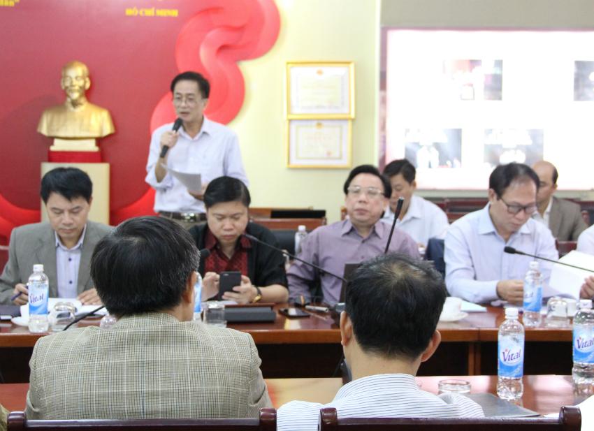 TS. Chu Xuân Khánh – Trưởng khoa QLNN về xã hội tham luận