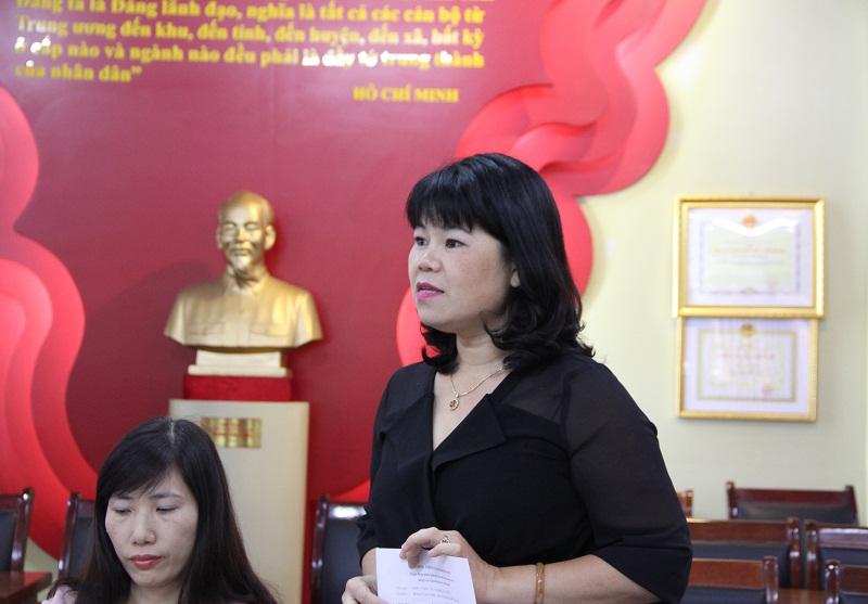 ThS. Nguyễn Thị Thúy Vân – Biên tập viên Tạp chí QLNN đề xuất xây dựng tiêu chí đánh giá bài báo khoa học hành chính và quản lý nhà nước