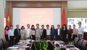Các đại biểu tham dự Tọa đàm