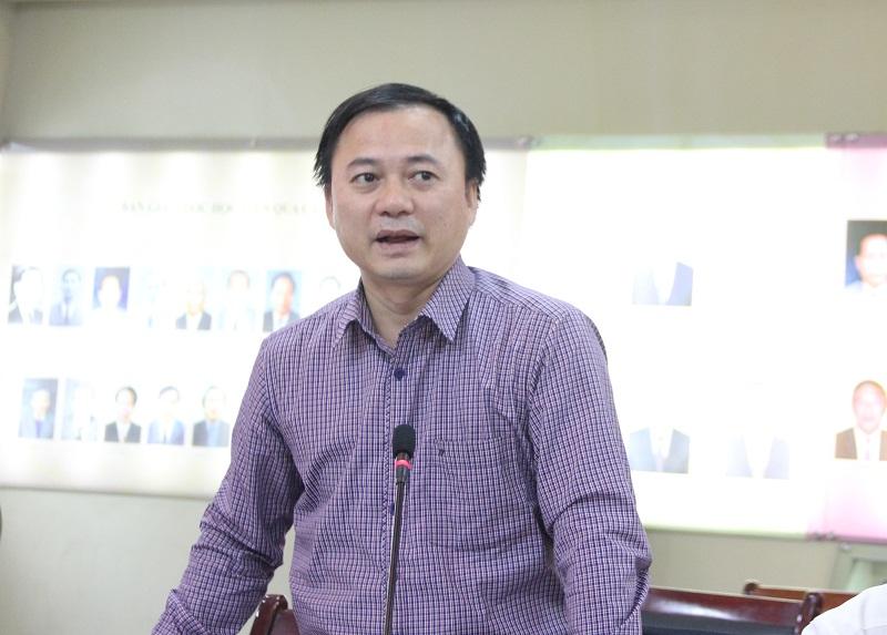 TS. Tạ Quang Tuấn - Phó Tổng Biên tập Tạp chí QLNN nhấn mạnh vai trò của tính logic trong nghiên cứu và phản biện khoa học