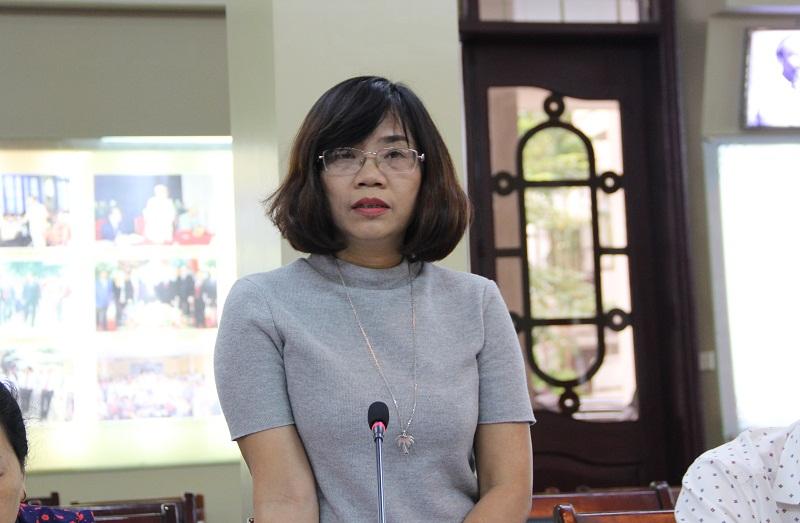ThS. Lê Kim Nga – Trưởng Ban Thư ký - Trị sự, Tạp chí QLNN nêu các tiêu chí về thể thức của bài báo khoa học đăng trên Tạp chí QLNN