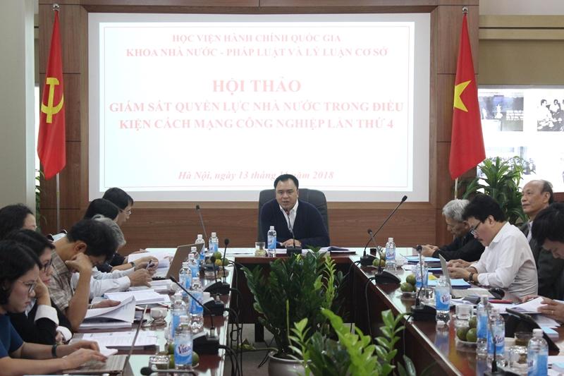 PGS.TS. Nguyễn Quốc Sửu chủ trì Hội thảo