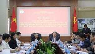 PGS.TS. Lương Thanh Cường – Phó Giám đốc Học viện phát biểu mở đầu Hội thảo
