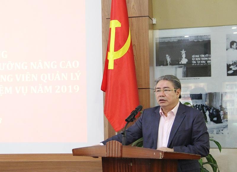 TS. Đặng Xuân Hoan - Giám đốc HV phát biểu khai mạc hội nghị.