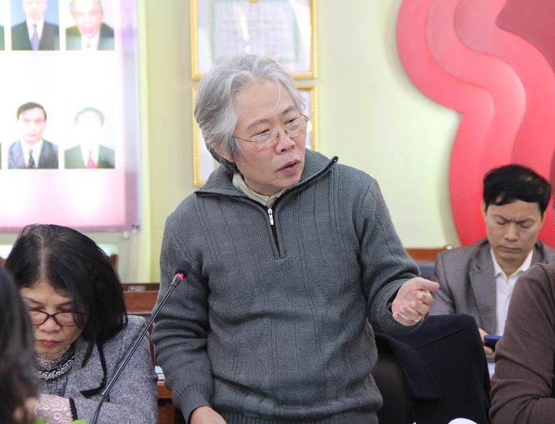 TS. Tạ Ngọc Hải – Phó Viện trưởng Viện Khoa học Tổ chức nhà nước, Bộ Nội vụ trao đổi tại Hội thảo