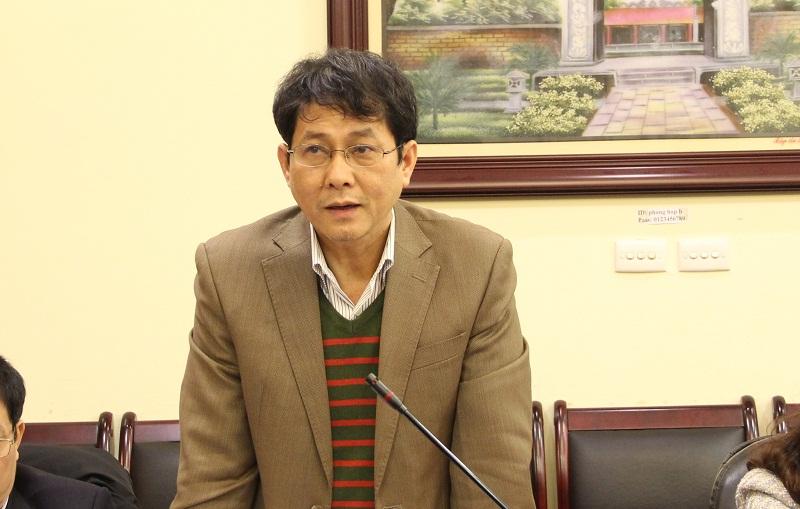 PGS.TS. Trương Quốc Chính - Phó Trưởng Khoa Nhà nước, Pháp luật và Lý luận cơ sở đề xuất Tạp chí QLNN tăng thêm các bài báo khoa học có tính hàn lâm về KHHC